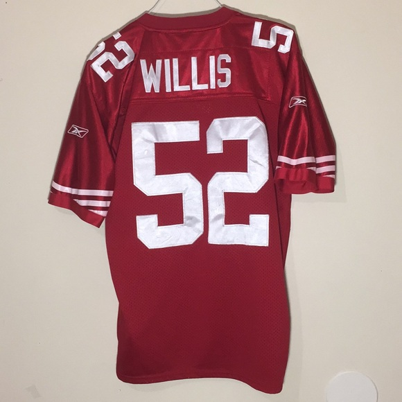 c9d4fe677 🔥San Francisco 49ers Patrick Willis NFL Jersey. M 5c3abedda31c33d5dd9b8c7e